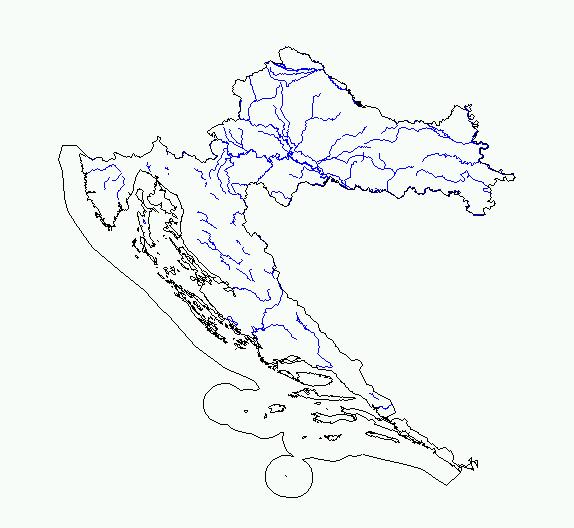 Slijepa Karta Hrvatske